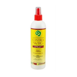 African Essence Wig Control Spray 3 in 1 Formula 12 oz